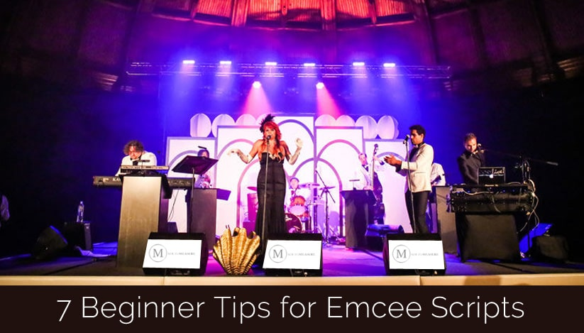 7 Beginner Tips for Emcee Scripts