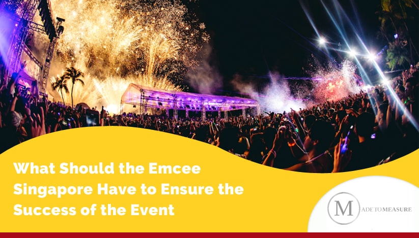 What Should the Emcee Singapore Have to Ensure the Success of the Event