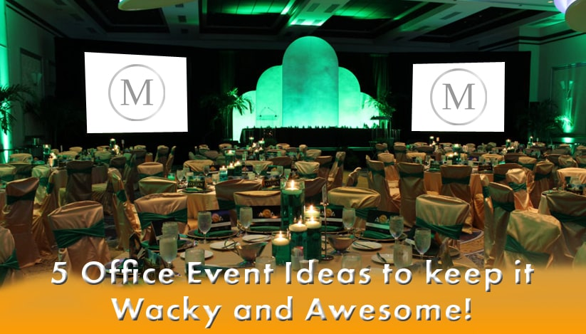 5 Office Party Ideas to keep it Wacky and Awesome!