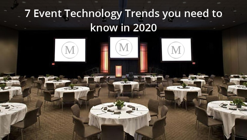 7 Event Technology trends you need to know in 2020
