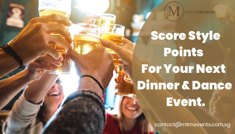 Score Style Points For Your Next Dinner and Dance Event